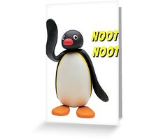Pingu Greeting Card