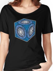 """Tardis """"Siege Mod"""" Blue - Doctor Who Women's Relaxed Fit T-Shirt"""