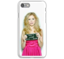 "June ""Don't Trust The B In Apartment 23"" iPhone Case/Skin"