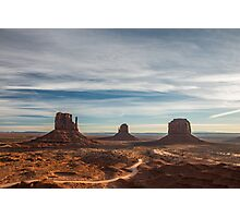 Valley of the Rocks - Monument Valley, Arizona Photographic Print