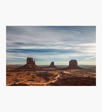 Valley of the Rocks - Monument Valley, Arizona Photographic Print