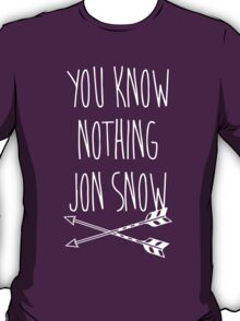 You Know Nothing II T-Shirt