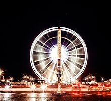 Ville des Lumières - Paris Place de la Concorde by Austen Risolvato