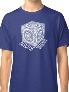 "Tardis ""Siege Mod"" Title - Doctor Who Classic T-Shirt"