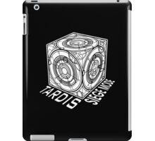 "Tardis ""Siege Mod"" Title - Doctor Who iPad Case/Skin"