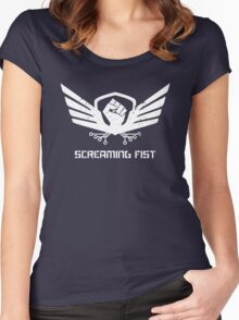 Operation Screaming Fist Insignia T-Shirt Women's Fitted Scoop T-Shirt