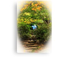 A Fairy In The Woods Canvas Print