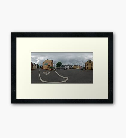 Carrick Crossroads, Donegal(Rectangular)  Framed Print