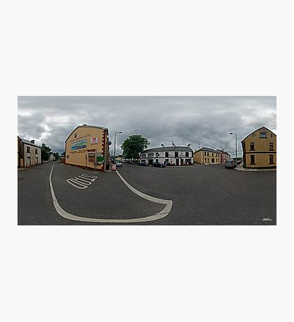 Carrick Crossroads, Donegal(Rectangular)  Photographic Print