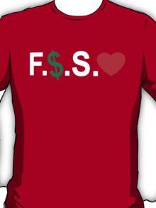 Fuck Money Spread Love [White] T-Shirt