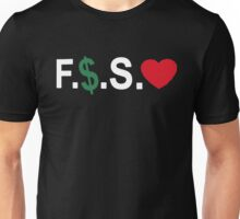 Fuck Money Spread Love [White] Unisex T-Shirt