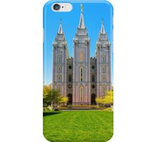 Salt Lake LDS Temple iPhone Case/Skin