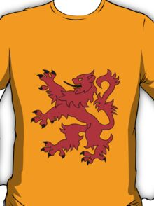 Rampant Lion Red T-Shirt