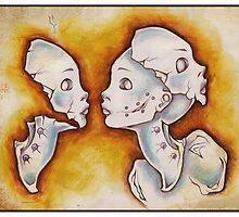 Twin Dolls by Emilie Dionne