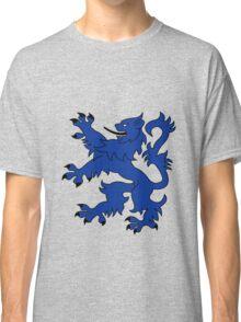 Rampant Lion Blue Classic T-Shirt