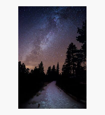 The Path to Darkness - Bryce Canyon National Park, Utah Photographic Print
