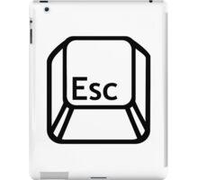 Esc Escape button iPad Case/Skin