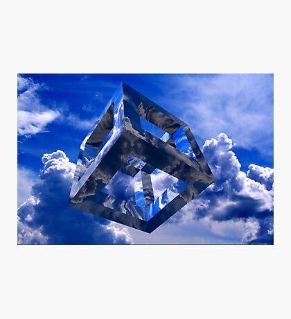 Sky Cube Photographic Print