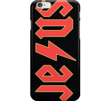 JESUS (ACDC FONT) iPhone Case/Skin