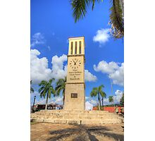 Eliza James-McBean Clock Tower Photographic Print