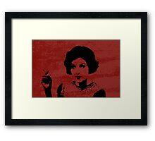 Audrey Horne - Twin Peaks Framed Print