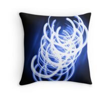 Electrical Charge Throw Pillow
