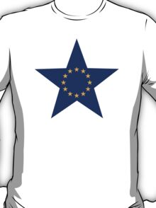 Europe EU star flag T-Shirt