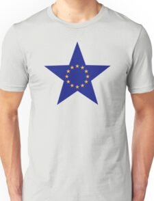 Europe EU star flag Unisex T-Shirt
