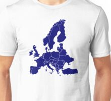 Europe Map Unisex T-Shirt