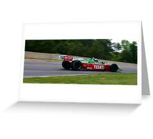 Adrian Fernandez Champ Car Greeting Card