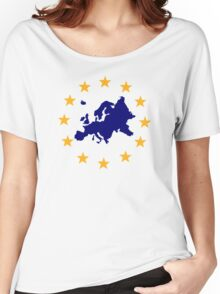 Europe Women's Relaxed Fit T-Shirt