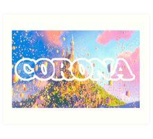 Corona Art Print