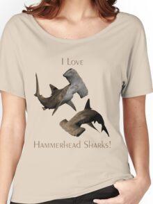 I Love Hammerhead Sharks Women's Relaxed Fit T-Shirt