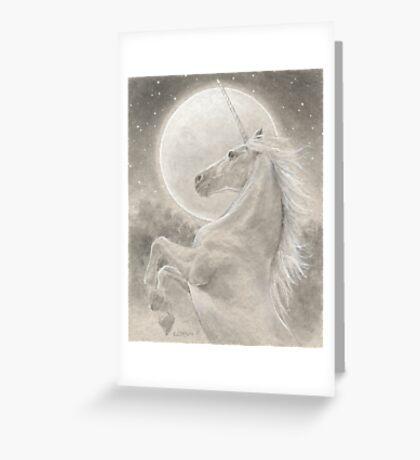 The Unicorn Greeting Card