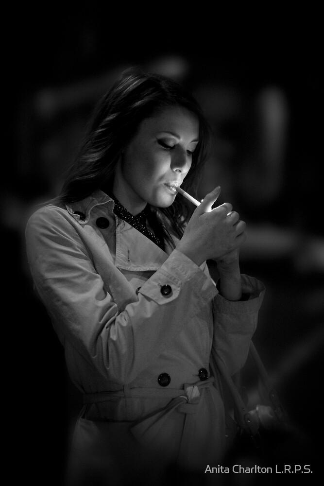 Smoking I by Anita Charlton L.R.P.S.