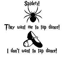 Tap Dancing Spiders Photographic Print
