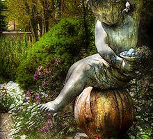 Cherub by Mike  Savad