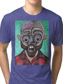 Zombie Lumberjack Tri-blend T-Shirt