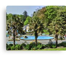 Portmeirion HDR Canvas Print