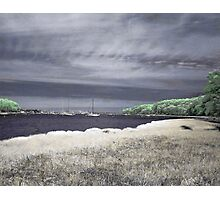 Lazy Afternoon on Greenwich Bay Photographic Print
