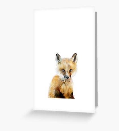 Little Fox Greeting Card