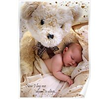 Teddy Bear Dreams Poster