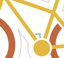 Bicycle Icon Sticker