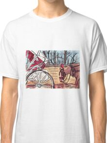 Horse and Carriage (NYC) Classic T-Shirt