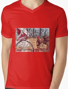 Horse and Carriage (NYC) Mens V-Neck T-Shirt