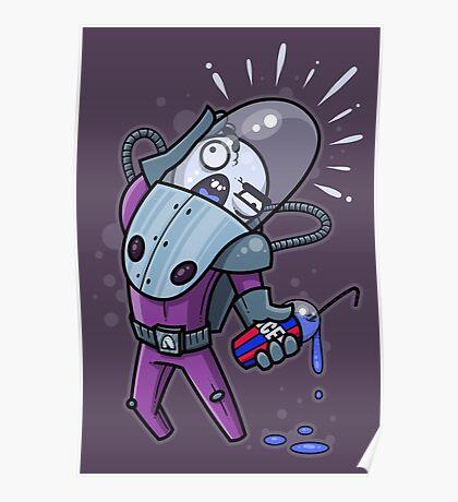 Mr. Brain Freeze Poster