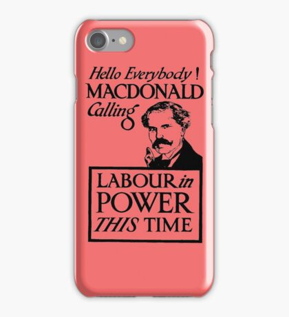 1923 ELECTIONS- LABOUR iPhone Case/Skin
