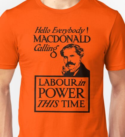 1923 ELECTIONS- LABOUR Unisex T-Shirt