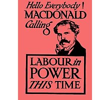1923 ELECTIONS- LABOUR Photographic Print