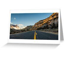 Route 12 - Escalante, Utah Greeting Card